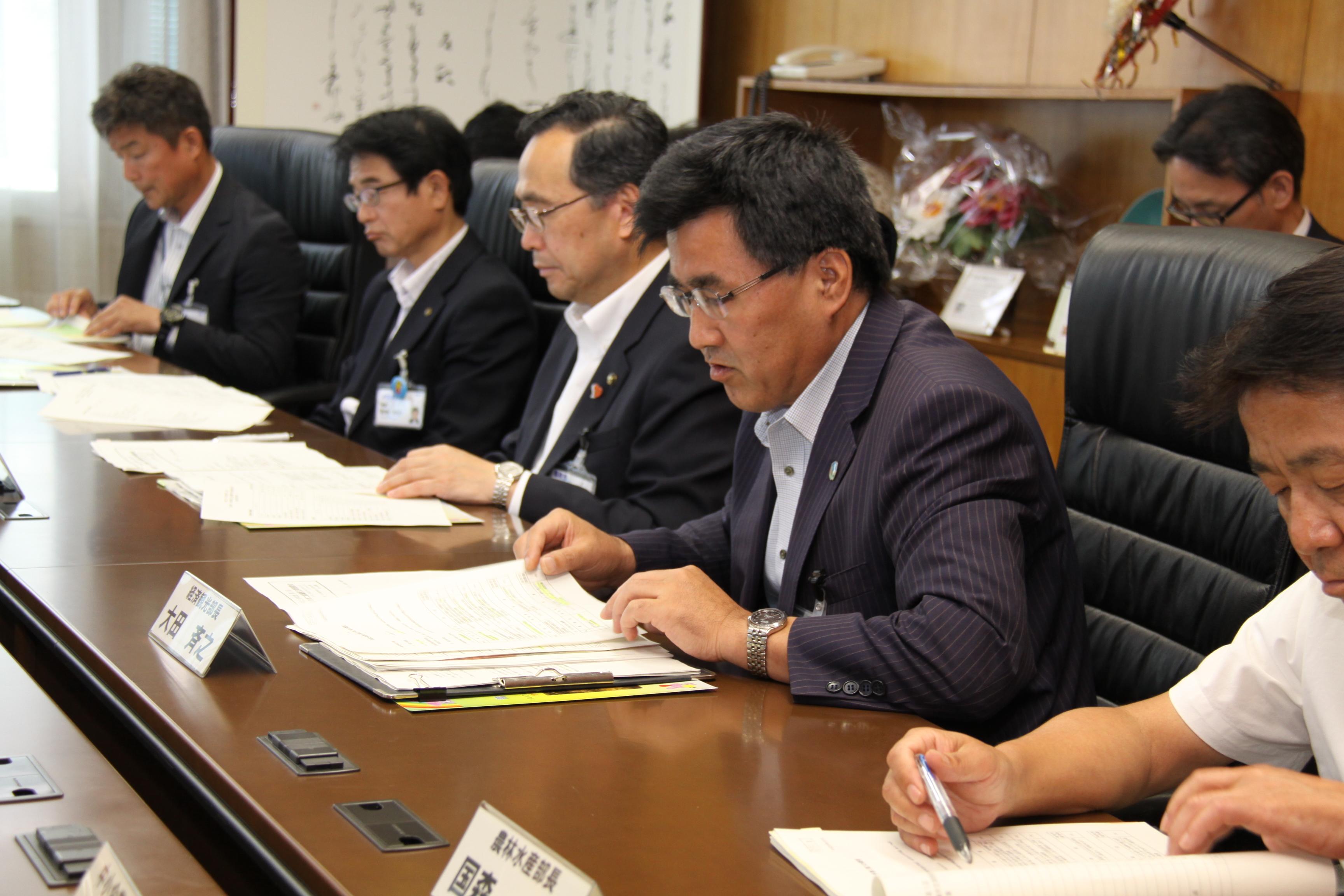 鳥取市と第1回定期懇談会を開催!   鳥取商工会議所