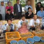 20150619鳥取空港ラッキョウ収穫祭 010