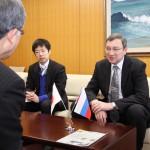 20160225在大阪ロシア総領事表敬訪問 002